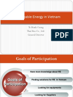 Renewable Energy in VietNam - To Manh Cuong