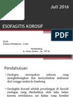 ESOFAGITIS KOROSIF PPT