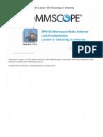 MW Link FUndamentals CommScope Infrastructure Academy