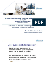 Mesa Redonda - Dr. Ricardo Dextre