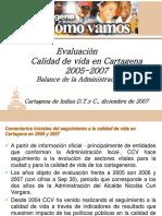 Evaluacion Calidad de Vida-2007
