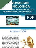PRIMERA LECTURA Innovacion Tecnologica
