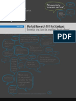 MarketResearch 101 for Startups