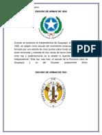 Historia Del Escudo Del Ecuador