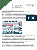 L&T plans to raise $500 million via QIP - The Economic Times