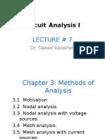 Circuits I Lect7