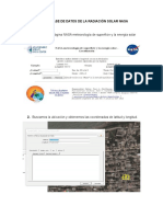 Guia de uso de la base de datos de radiación solar de la NASA