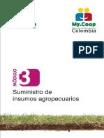 Modulo 3. MyCoop Colombia. Suministro de insumos agropecuarios