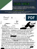 Roswell FBI File