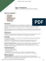 Medicamento Levodopa + carbidopa + entacapona 2013