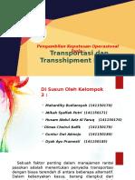 12. S11 Transportation and Transshipment Models