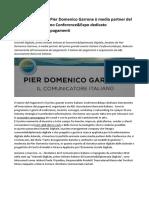 IsiameD Digitale Di Pier Domenico Garrone è Media Partner Del Primo Evento Italiano Conference&Expo