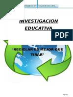 Trabajo de Investigacion Educativa