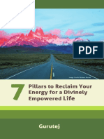 Seven Pillars to Reclaim Your Energy for a Divinely Empowered life