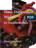 MORE Hand Manipulated Stitches