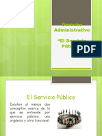 El Servicio Publico