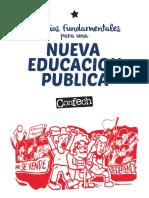 Principios Para Una Nueva Educacion Confech