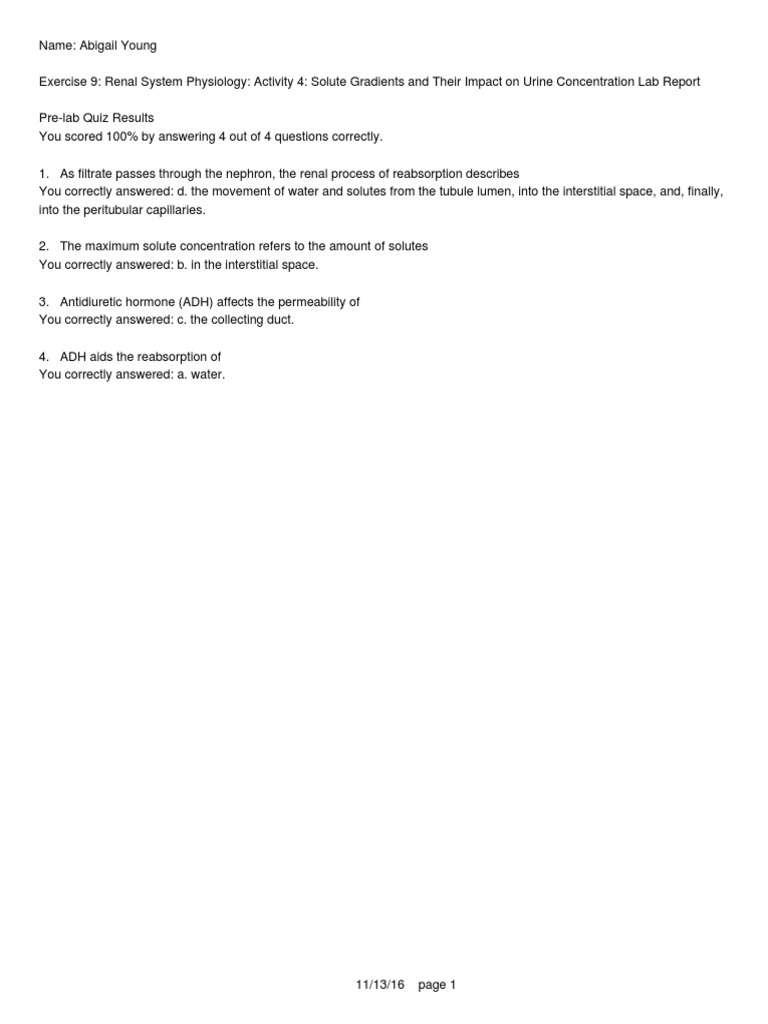 Exercise 9 Act 4   Organ (Anatomy)   Urinary System
