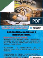 Geopolitica Nacional e Internacional (Sesión 4)
