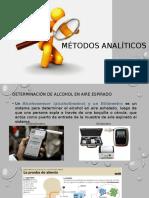 Métodos analíticos de importancia forense en determinacion de etanol en el organismo