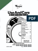 Whirlpool Rbd245pd Users Manual 303683