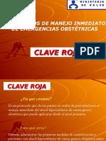Presentación Clave Roja Lima