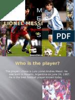 Lionel Messi Powerpoint