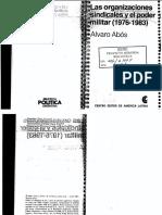 Abos - Las organizaciones sindicales y el poder militar.pdf