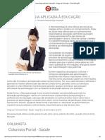 Neuropsicologia Aplicada à Educação - Artigos de Psicologia - Portal Educação