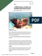 ¿Esta MAL o BIEN Que Beses a Tus Hijos en La Boca_ Los Terapeutas Dicen Cómo Los Afecta