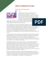 O Sistema Político e Eleitoral Em Cuba