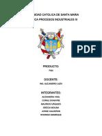 PROCESOS III Elaboracion Del Pan