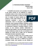 Svampa, M - La Argentina Movimientos Sociales e Izquierdas
