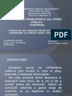 Valori Si Problematici Ale Sfere Publice Europene
