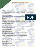 Listado de Bibliografía Sobre Contratación Pública