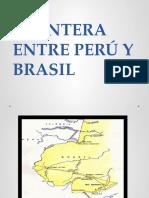 Frontera Entre Perú y Brasil