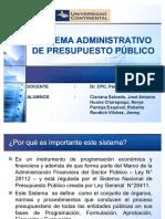 61511713 Sistema Administrativo de Presupuesto Publico