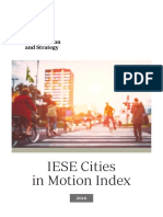 IESE Cities in Motion Index 2016