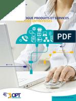 Telecoms Entreprises - Catalogue Produits Et Services 2014