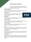 Glosario Metodología de La Investigación