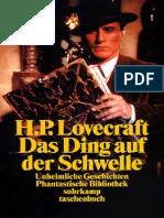 Lovecraft, H. P. - Das Ding Auf Der Schwelle