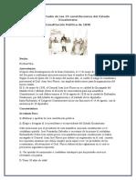 Análisis Y Estudio de Las 19 Constituciones Del Estado Ecuatoriano