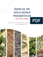 Manual de Soluciones Paisajistcas Para Zonas Áridas