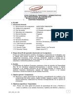 SPA Auditoría Financiera - 2016 02