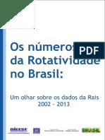 NÚMEROS DA Rotatividade Brasil DIEESE.pdf