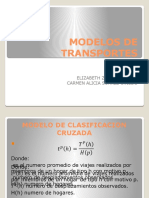 Modelos de Transportes