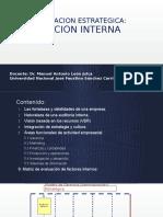 Sesión 6. Evaluación Interna 2016-II