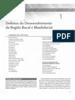 Defeitos Do Desenvolvimento Da Região Bucal e Maxilofacial - Patologia Oral e Maxilofacial 3ª Ed - Neville