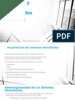 Procesos y Archivos Distribuidos
