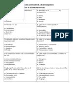 Preparación Prueba Libro R y M Investigadores